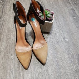 Jeffrey Campbell X Free People Solitaire Pumps 7.5